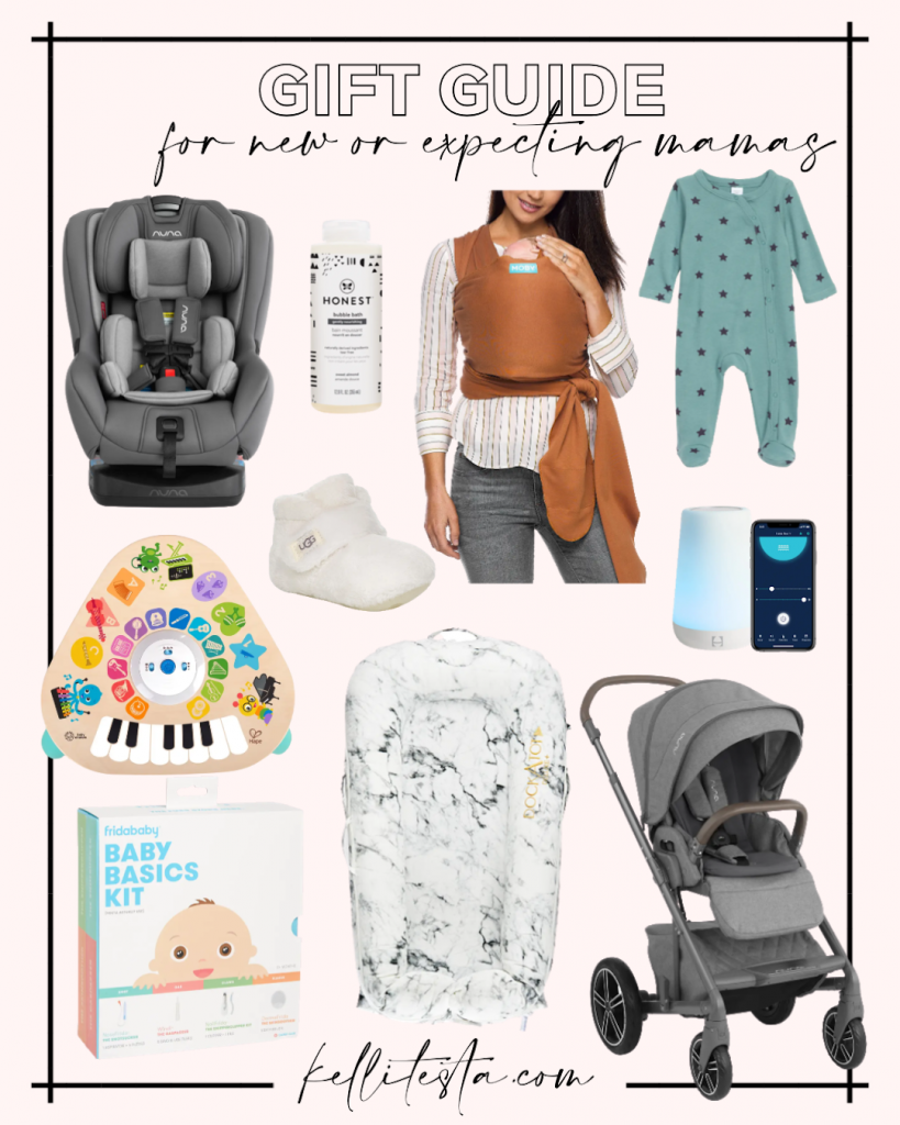 gift guide for the new or expecting mom